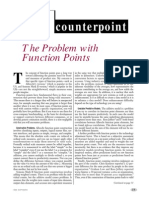 The Problem With Function Points