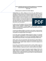 Informe Comisión de Asuntos Indígenas 2012-2015