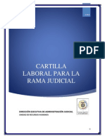 Cartilla Laboral Rama Judicial