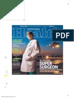 Dr. Red Duke on Houston Chronicle's  Health cover