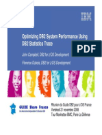 Guide_Optimizing DB2 System Performance Using DB2 Statistics Trace