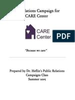 ksu care center public relations campaign book