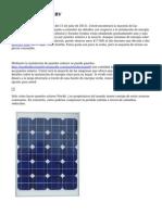 Paneles solares de RV
