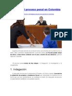 Etapas Del Proceso Penal en Colombia
