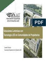 04 Soluciones Luminicas Con Tecnologia LED en Comunidades de Propietarios ANILED Fenercom 2014