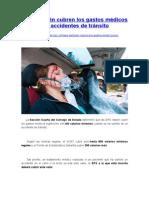 EPS También Cubren Los Gastos Médicos Por Accidentes de Tránsito