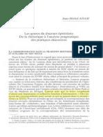 ADAM, Jean-Michel - Les Genres Du Discours Epistolaire