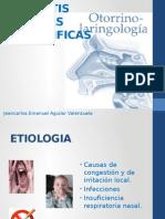 Laringitis Cronicas Inespecificas