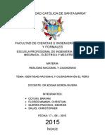 Ciudadanía e Identidad Nacional