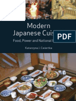 Modern Japanese Cuisine - Food, Power and National Identity