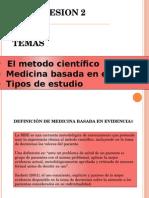Temas 1 y 2 El Método Cientifico