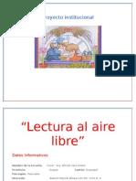 Proyecto de La Lectura