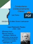 Conductismo Condicion.clasICO OPERANTE