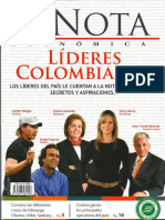 LIDERES COLOMBIANOS