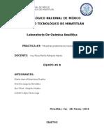 PRACTICA 3  quimica analitica