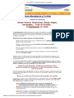 Atraer Abundancia - Autoayuda Para Aplicar La Ley de Atracción