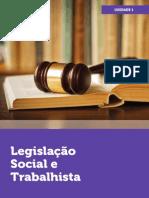 Legislação Social e Trabalhista 1