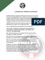 Reglamento Interno Bull Terrier Club Peruano
