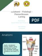 Refrat Anatomi Fisio Laring Dini Bismillah