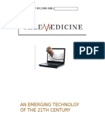 telemedicine, an emerging technology of 21th century