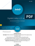 Digitální měny v 21. století