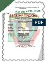Instalacioneslos Servicios Públicos o Instalación Vitales en La Ciudad de Huamanga y Establesca- Pare Jimenez