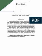 Hyppolite - Histoire Et Existence