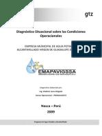 Diagnóstico Situacional Sobre Las Condiciones Operacionales Febrero 2009