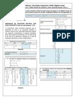 Retroalimentacion Evaluacion 3 Sistemas de Ecuaciones 20132