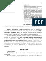 Agravios Hija Merci Auto Fecha 26 Nov 2013 Se Opone Ami Interposicion Del Inventario y Acepta El Suyo 9 Enero 2014