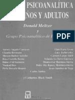 Clinica Psicoanalitica Con Niños y Adultos- Donald Meltzer