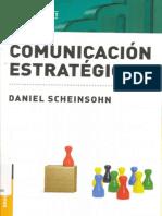 Comunicación Estratégica, De Scheinsohn (2009)
