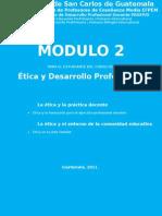 Mc3b3dulo 2 c3a9tica y Desarrollo Profesional