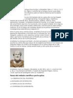Aristóteles y Carlos Linneo