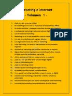 Marketing e Internet - Vol 1