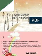 CIRI-CIRI GURU YANG INTEGRITI