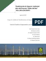 Análisis MIA y Resolutivo Eólica Del Sur Juchitan UCCS