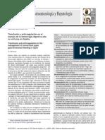 Transfusión y Anticoagulación