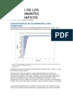 Analisis de Los Determinantes Demograficos