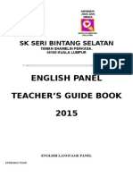 English Panel Guidebook 2015-2