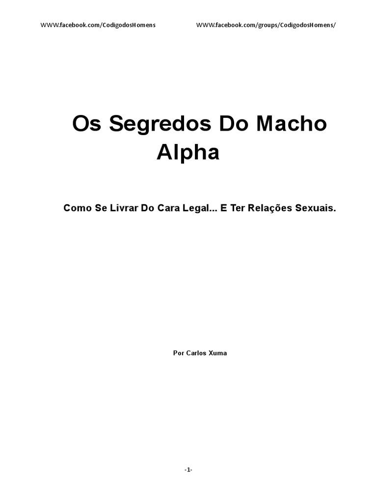 dce2820d1d9cd Os Segredos Do Macho Alpha  Código Dos Homens