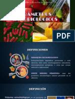 Parámetros microbiologicos