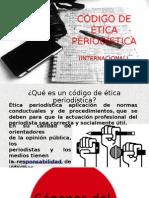 Código de Ética Periodística Presentacion