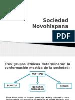 Sociedad Novohispana