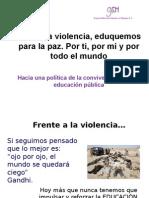 Contra La Violencia SE GDF