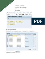 Parametrización Datos Maestros Acreedores