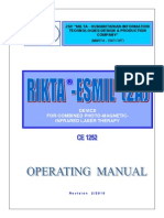 Rikta-Esmil 2А User's Manual ENG