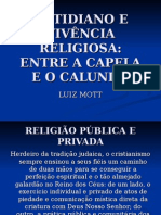 COTIDIANO E VIVÊNCIA RELIGIOSA.ppt