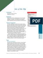 Osteoarthritis of Hip