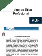 Presentación Código de Ética